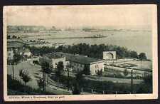 81497 AK Gdynia 1933 Widok z. Kamiennej Gory na port Gdingen