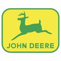 JOHN DEERE LOGO DECAL STICKER USA MADE TRUCK HELMET VEHICLE WINDOW WALL CAR