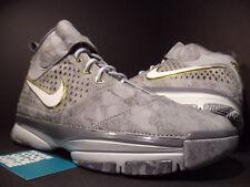 Nike Zoom KOBE II 2 PRELUDE WOLF COOL GREY SILVER WHITE GOLD 640222-001 DS 10.5