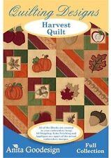Anita Goodesign Harvest Quilt  Embroidery machine Design CD
