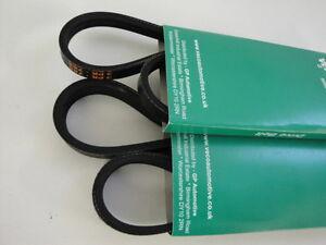 ROVER 75 2.0 CDT CDTi Diesel Alternator Air Con Drive Belts