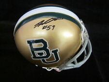 Danny Watkins Autographed Baylor Bears Mini Helmet signed w/name & no