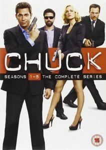 CHUCK: COMPLETE SERIES SEASONS 1 2 3 4 5 DVD BOX SET NEW R4 Clearance
