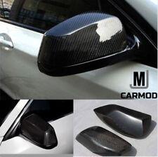 Fit For BMW E60 E61 E63 E64 2003-2007 Stickon Carbon Fiber Side Mirror Cover Cap