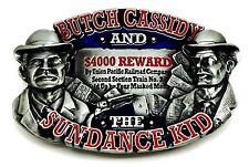 Butch cassidy boucle de ceinture american western far west authentique bulldog buckle co