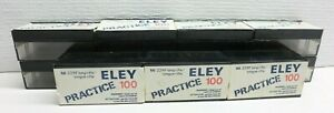 Used Vintage ELEY TENNEX Practice .22 Cal LR EMPTY Ammo Boxes 550 Ct. 50 Ct. x11