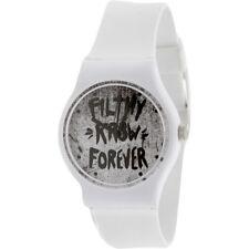 $80 KR3W Freshman Filthy Watch white K1341WTFL-1S