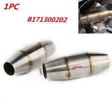 1X 38mm Motorcycle Exhaust Pipe Muffler Expansion Chamber Tuned Exhaust Pipe Kit
