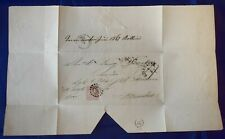 Mayfairstamps Germany 1860s Starnerg to Munich Folded Cover wwg11175