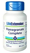 3X $14.25 Life Extension Pomegranate Complete antioxidant prostate heart joint
