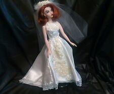 OOAK Wedding Gown for Gene Doll