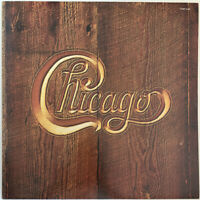 CHICAGO SELF TITLED LP CBS SUNBURST LABELS UK 1976 NEAR MINT PRO CLEANED