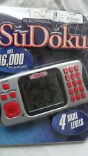 Electronic SuDoku Handheld Game w/Over 16,000 puzzles by Excalibur (NEW)