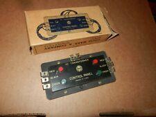 MARX  #1585  Four Button Control Panel, OB,  Original