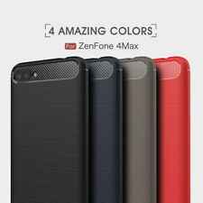 For Asus ZenFone 4 Max/Plus/Pro ZC554KL Slim Shockproof Soft Rubber Case Cover