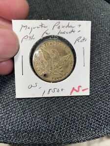 Merchant Token - 1850s - E. Lyon / Magnetic Powder & Pills For Insects And Rats