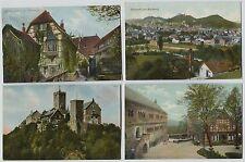 15 1910 era Wartburg Eisenach Germany Postcards