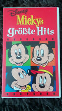 Mickys größte Hits (VHS) Disney (Rarität!!! Selten!!! Sammlerstück!!!)