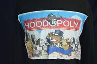 RARE Fubu Hood Monopoly Get Money Men's Large L Supreme Sweater Wu Wear Thermal