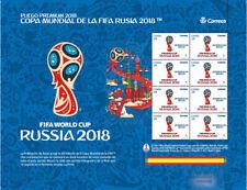 2018 Spain FIFA World Cup Russia 2018 Sheet