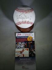 "New listing Johan Santana "" 2x AL Cy Young "" Signed Baseball JSA...JJ79149 COA  Mets Twins"