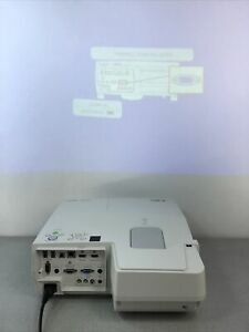 NEC NP-UM351W LCD Projector [869 hours] Bulb 78% No Remote - TESTED WORKING!