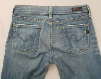 Citizens of Humanity Womens Kelly #001 Low Waist Boot Cut Stretch Jeans Size 24