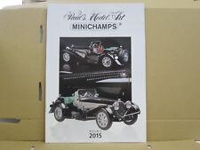 Paul's Model Art / Minichamps Katalog, Resin 1, 2015, deutsch, 40 Seiten