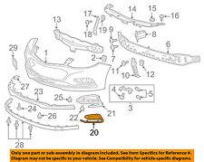 Chevrolet GM OEM 16-18 Cruze Front Bumper Grille-Trim Bezel Right 84095937