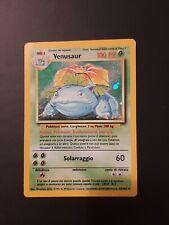 Pokémon Base Set VENUSAUR Ita EX - GD 15/102