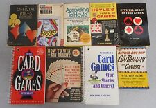 According to Hoyle Official Rules Gin Rummy Canasta Pokier Card Sharks Book Lot