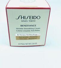 BRAND NEW IN BOX Shiseido Benefiance Wrinkle Smoothing Cream 2.6oz (EXTRA LARGE)