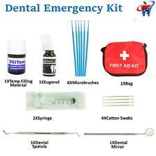 Dental Emergency Pain Relief Broken Tooth Teeth Cavity Filling DIY Fix Set Kit