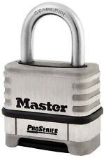 Master Lock Proseries Stainless Steel Combo Lock - 10000 Digit - Combination -