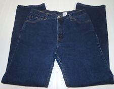 Vtg LEVIS Ladies Jrs Jeans 517 Slim Fit Boot Cut Sz 13 Medium Junior 32x32 Dark