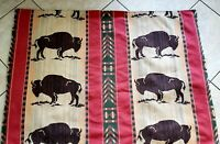 Vintage Bisons Wall Tapestry