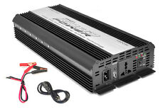Pyle PINV1500 Plug-In Car Power Inverter 1500 Watt Output W/ Modified Sine Wave