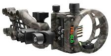 New TruGlo Carbon Hybrid Micro Adjust 5 (.019) Pins Sight Lost XD Camo TG7515M