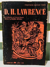 D. H. Lawrence: A Collection of Critical Essays! Vintage 1963 Mark Spilka Book!