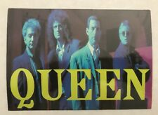 "Freddie Mercury Queen Rock Group Original 4""X6"" Photo Post Card UK Rare Unused"