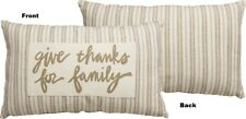 Give Thanks For Family Accent Pillow Couch Cushion Home Decoration 24551 New