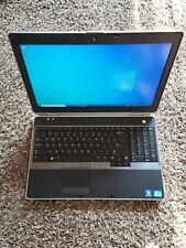 Dell Latitude E6530 Laptop / intel i5 4GB RAM 500GB HDD Win 10 Pro