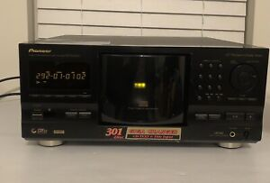 Vintage 1999 Pioneer PD-F1007 CD Changer 300+1 CD Carousel - Tested! No REMOTE