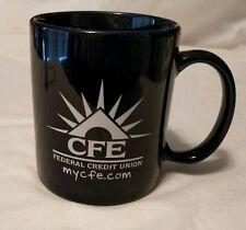 CFE FEDERAL CREDIT UNTION Mug MyCFE.com Blue Coffee Cup Lyni Life Silver Phoenix