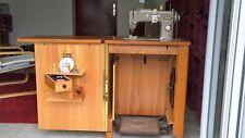 Pfaff 230 Schrank-Nähmaschine mechanisch ohne Motor mit Anleitung Stickprogramme
