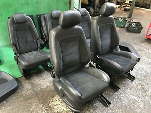FORD S MAX INTERIOR SEATS HALF-LEATHER FRONT REAR AND DOOR CARDS 2010-2015