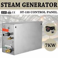 7KW Steam Generator Sauna Bath Home Spa Shower Steamer With St-135 Controller