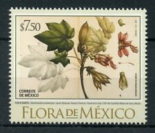 Mexico 2018 MNH Flora Tree Leaves 1v Set Flowers Plants Trees Nature Stamps