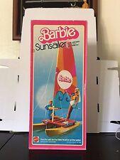 1975 Mattel Barbie Sunsailer Hobie Cat - Catamaran w/ Original Box #9106