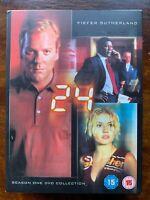 Kiefer Sutherland 24 Saison 1 DVD Coffret Classique TV Spy Action Thriller Série